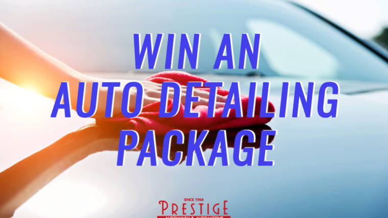 May Auto Detailing Giveaway
