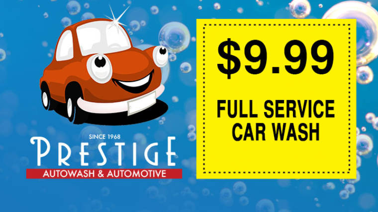 Full Service Car Wash Offer