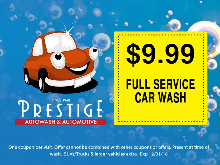 Full Service Car Wash Offer