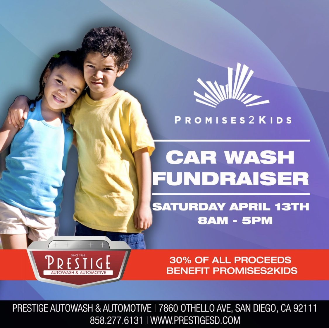 Promise2Kids Car Wash Fundraiser