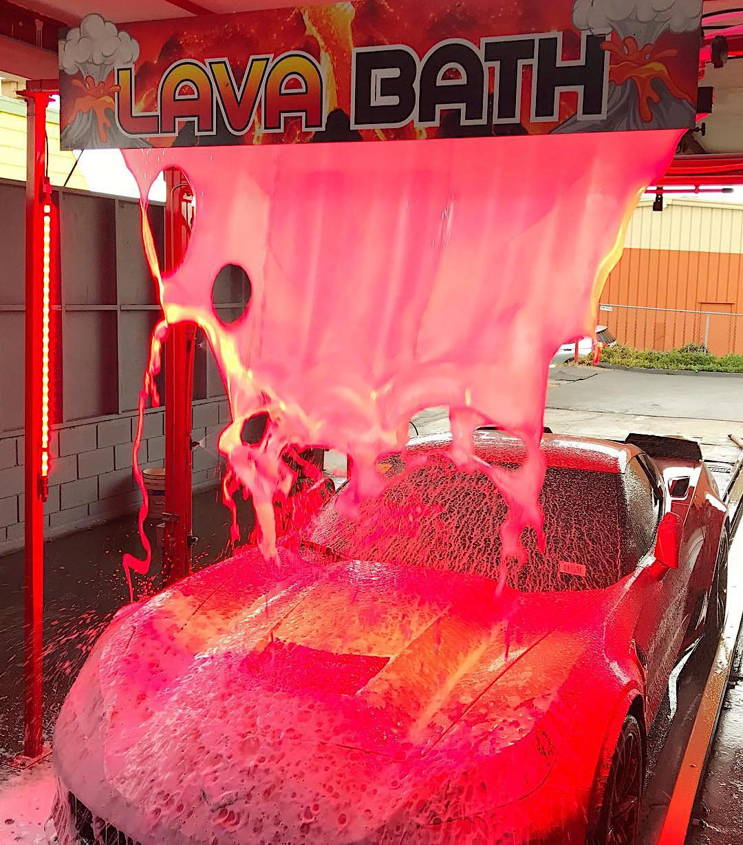 May Giveaway! Win a LAVA Package Car Wash!