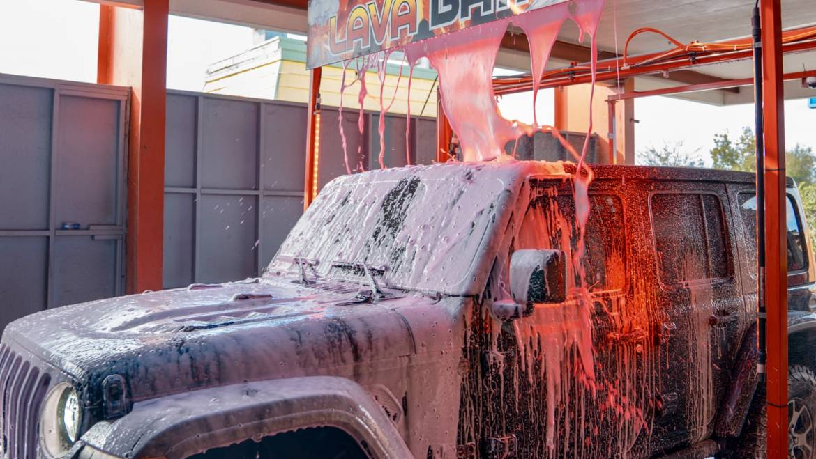 July Giveaway! Win a LAVA Package Car Wash!