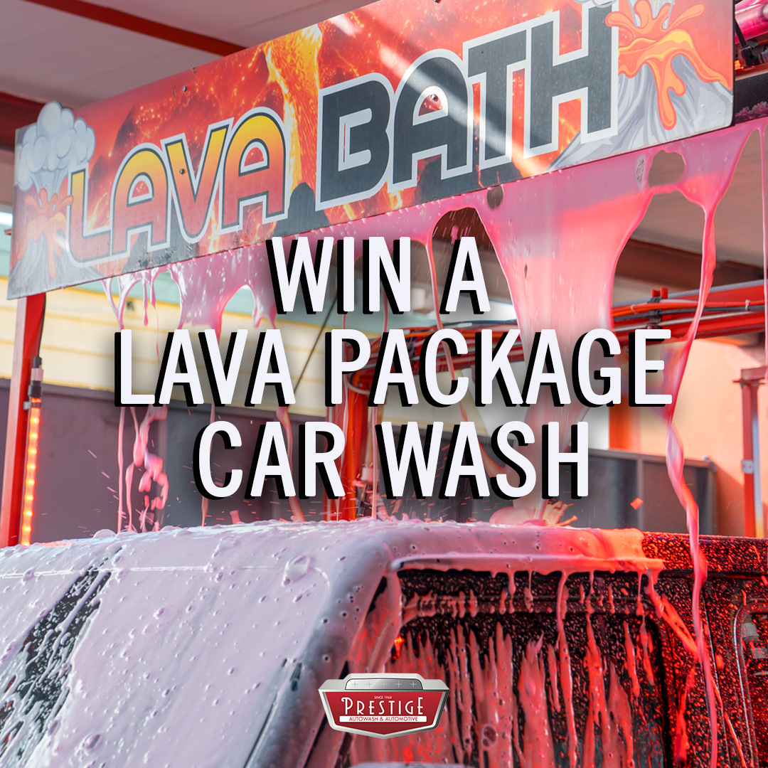 September Giveaway! Win a LAVA Package Car Wash!