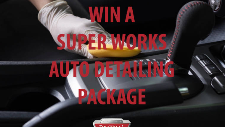 August Giveaway: SUPER WORKS Auto Detailing Package!