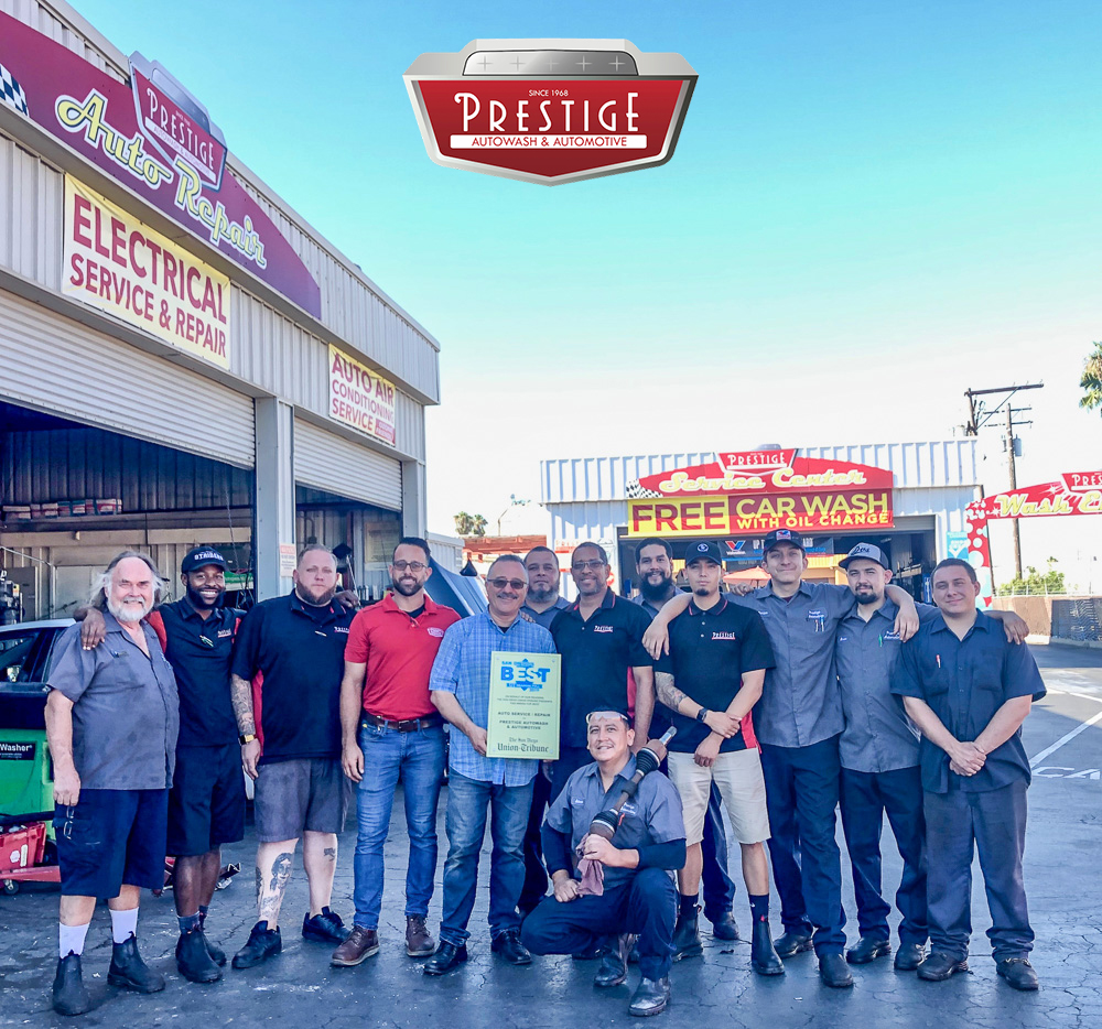 Thank you from Prestige – Awarded Best Auto Service/Repair